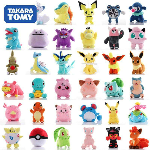 41 Styles Pokemon Plushies