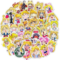 Anime / Cartoon 50pc eranskailuen bilduma