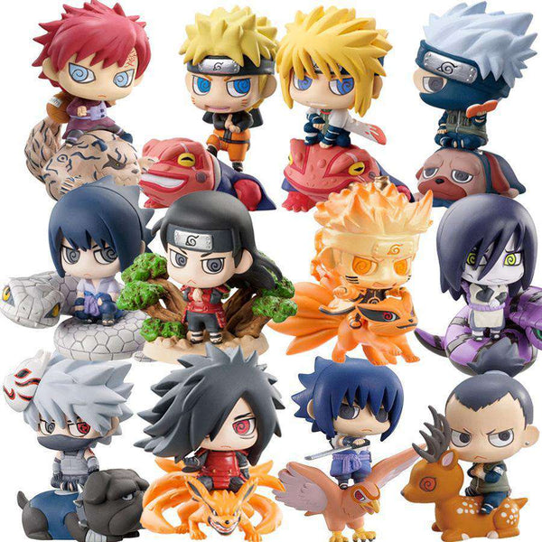 Naruto Chibi Action Figure Sets