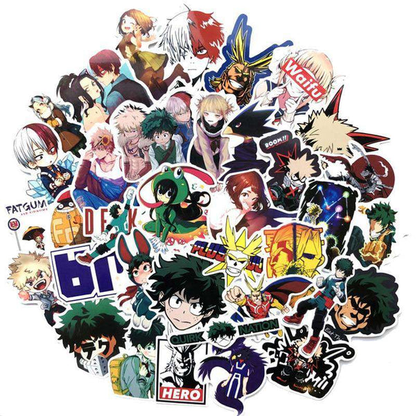 My Hero Academia Sticker Collection