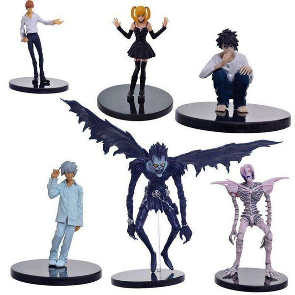 Death Note 6PC Action Figure Set