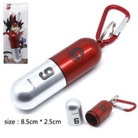 Keychain ظروف قرص Bulma Capsule Pill Container