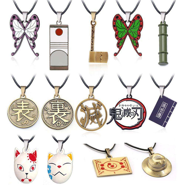 Demon Slayer Anime Necklaces