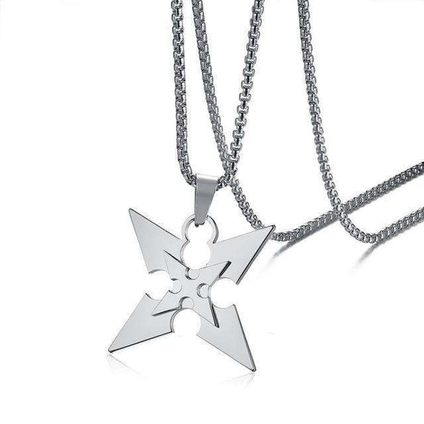 Naruto Ninja Star Necklace