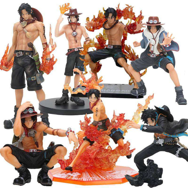 One Piece Ace Figures