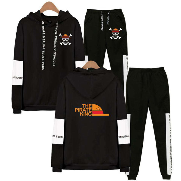 One Piece Jacket Sweatpants