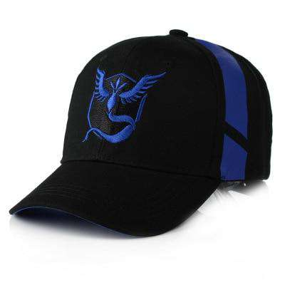 Pokemon Go Team Baseball Caps
