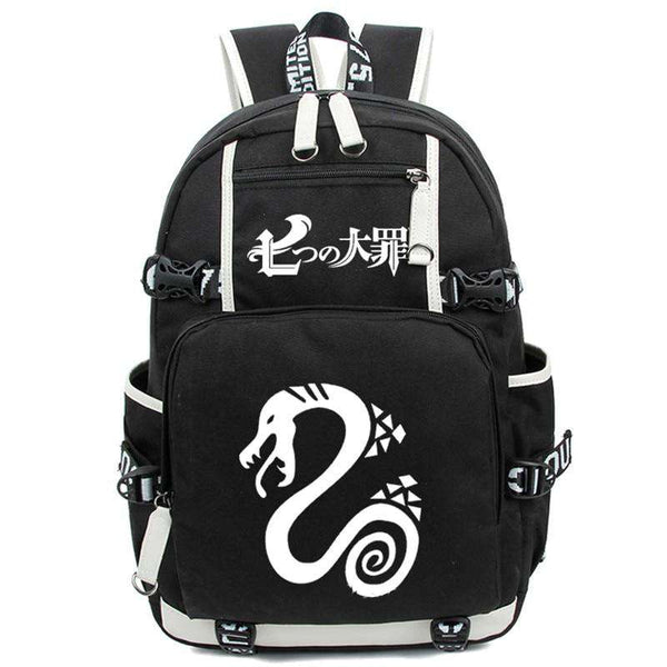 The Seven Deadly Backpack Bag