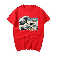 Camisa Tonari No Totoro Anime Japanese Wave