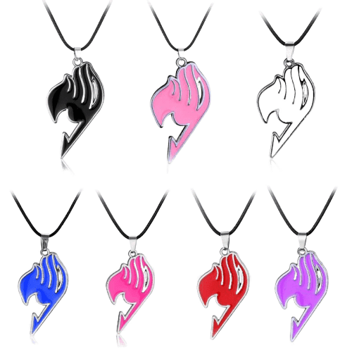 Fairy Tail Anime Guild Logo Necklace