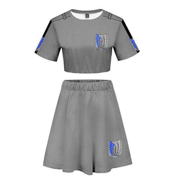 Attack on Titan T-Shirt and Skirt
