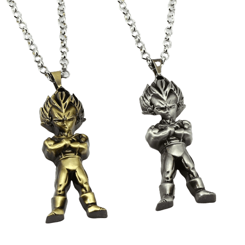 Dragon Ball Z Anime Vegeta Necklace