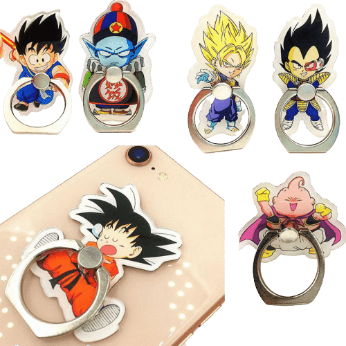 Dragon Ball Z Anime Phone Ring Collection