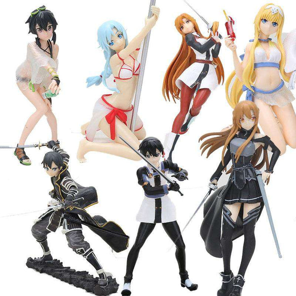 Sword Art Online Action Figure Collection