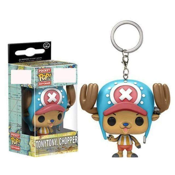 One Piece Anime Tony Tony Chopper Funko POP Keychain