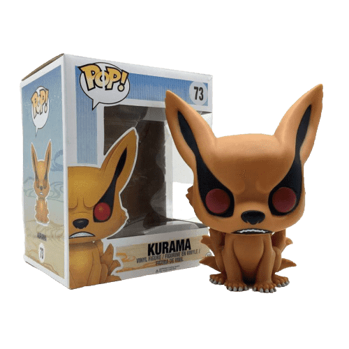 Naruto Anime Nine Tails Kuruma Funko POP