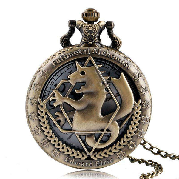Fashion Full Metal Alchemist Pocket Watch