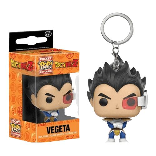 Dragon Ball Z Anime Vegeta Funko POP Keychain