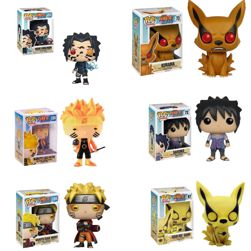 Naruto Anime Funko Pop Collection