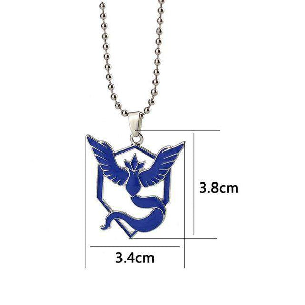 Pokemon Go Team Necklaces