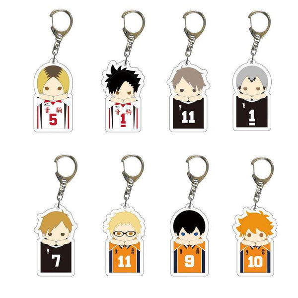 Haikyuu Chibi Keychain Collection