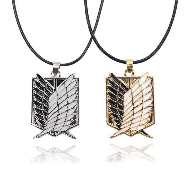 Serangan Pada Titan Wings Of Freedom Necklace