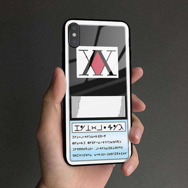 Hunter x Hunter Glass Phone Case
