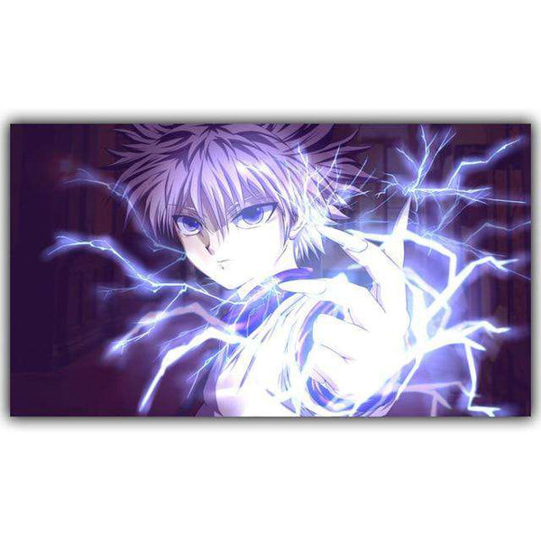 Hunter x Hunter Lightning Killua Poster