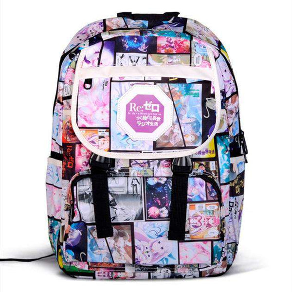 Anime School Backpack Collection