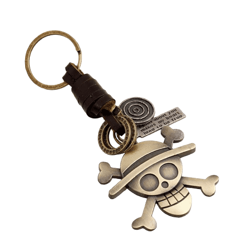 One Piece Anime Crew Keychain