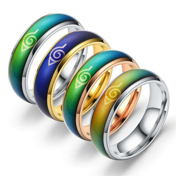 Naruto Color Rings