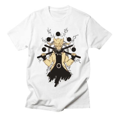 Naruto Anime Six Paths Naruto T Shirt