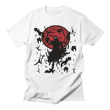 Naruto Anime Itachi Uchiha Crows Camiseta