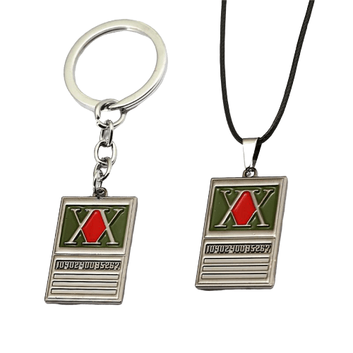 Hunter x Hunter Anime Keychain Necklace
