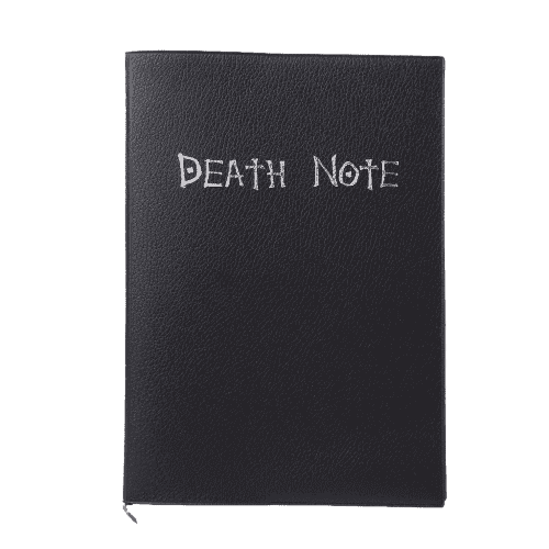 Death Note Anime Shinigami Notebook