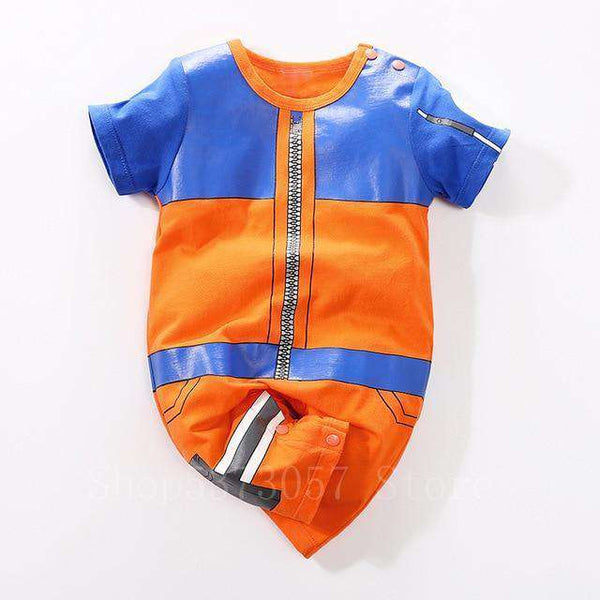 Anime Toddler Jumpsuit Pajamas