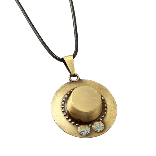One Piece Anime Ace Necklace