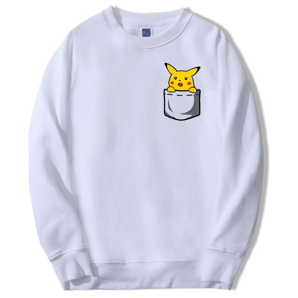 Pokemon Surprised Pikachu Long Sleeve
