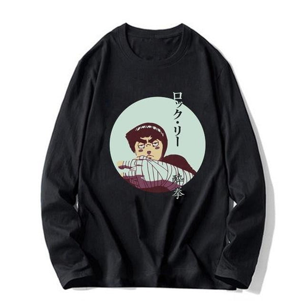 Rock Lee drunken fist long-sleeve