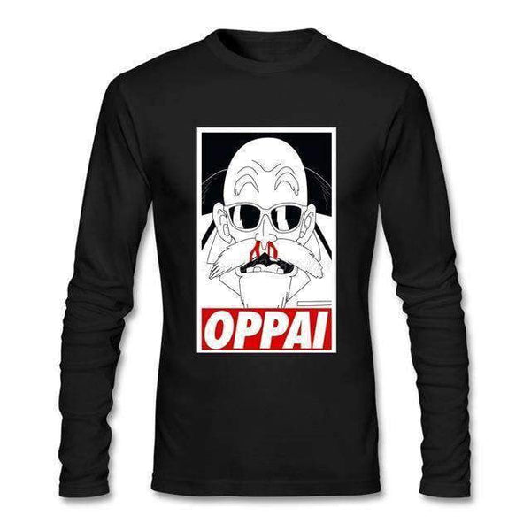 DBZ Roshi Oppai Long Sleeve