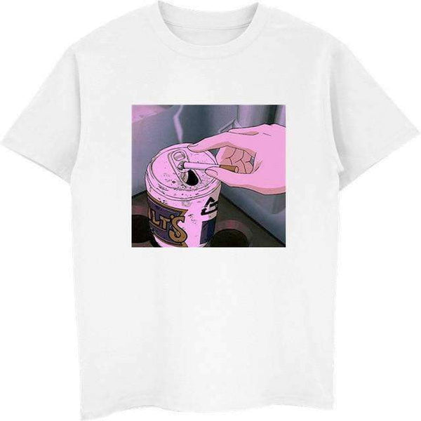 Sad Vaporwave Anime T Shirt