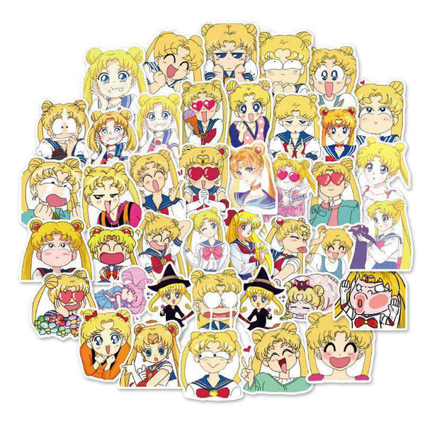 Sailor Moon Sticker Collection