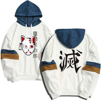 Sudadera con capucha japonesa Demon Slayer