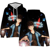 Tower of God Awakened Baam Sudadera con capucha