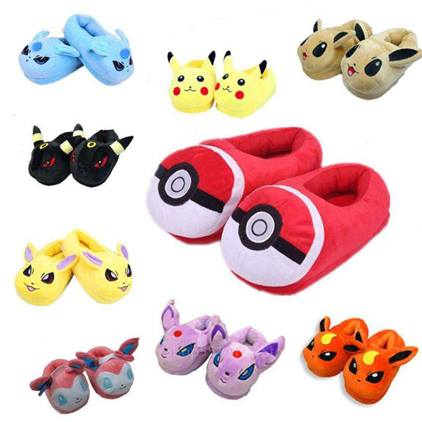 Pokemon Pajama Slippers