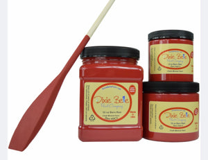 Dixie Belle Barn Red Chalk Mineral Paint 8 oz.