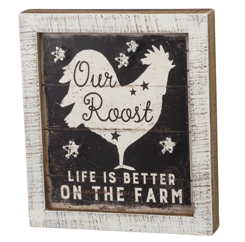 Inset String Art - Life Is Better On The Farm Primitives By Kathy