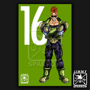 "Android 16 Redesign *LIMITED PRINT* - 11"" X 17"" Poster"