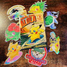 Load image into Gallery viewer, Aloha from Alola Sticker Pack (5pc)