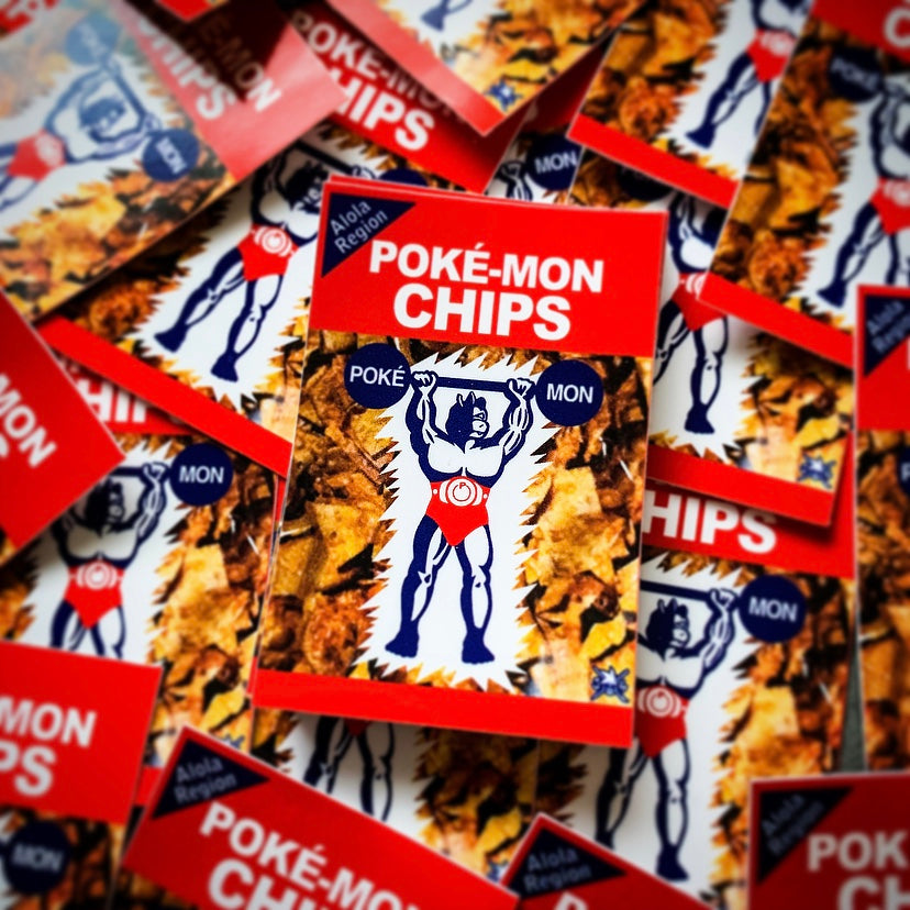 Poké Chips Sticker